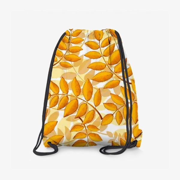 Рюкзак «лиственный паттерн»
