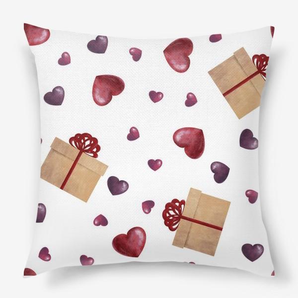 Подушка «Сердечный подарок»