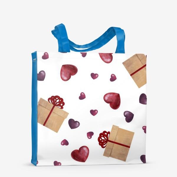Сумка-шоппер «Сердечный подарок»