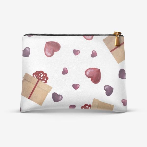 Косметичка «Сердечный подарок»