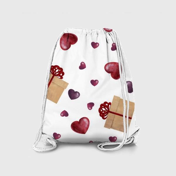 Рюкзак «Сердечный подарок»