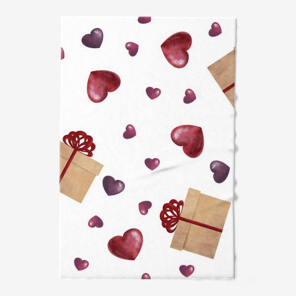 Полотенце «Сердечный подарок»