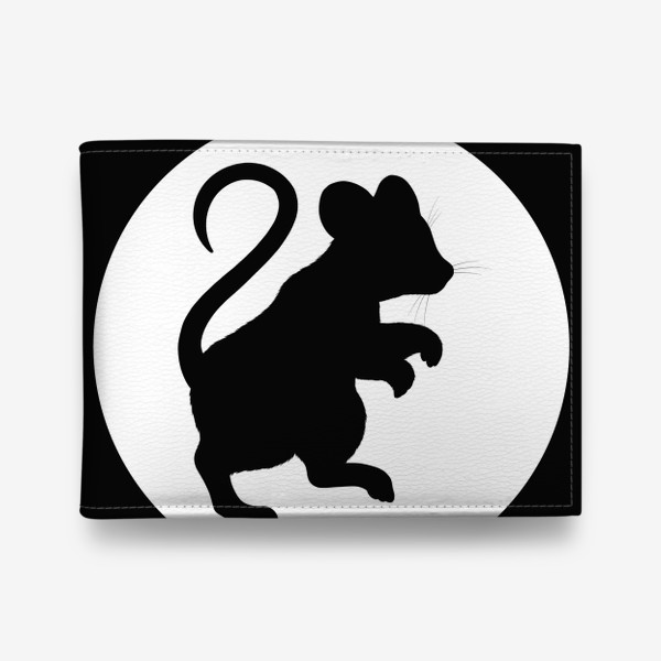 Кошелек «Тень мышки на стене»