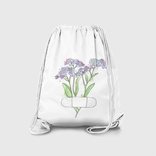 Рюкзак «незабудочки»