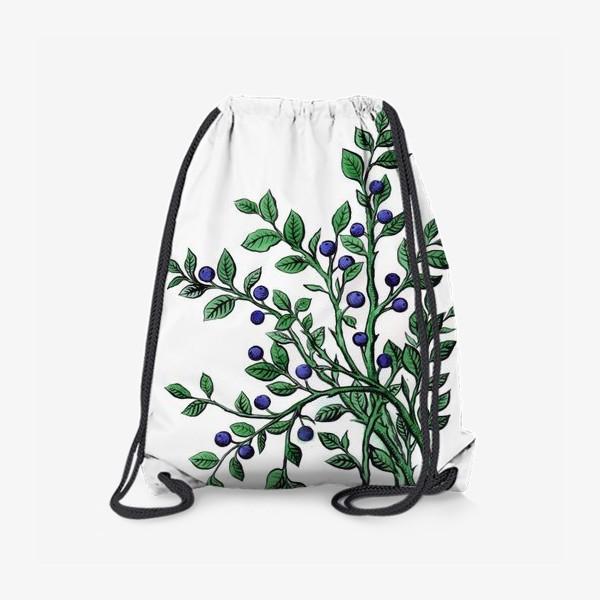 Рюкзак «ягода черника»