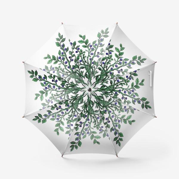 Зонт «ягода черника»