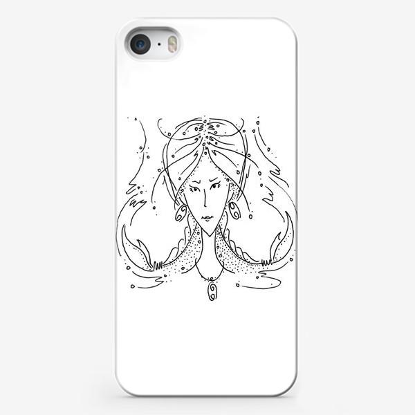 Чехол iPhone «Рак зодиак»