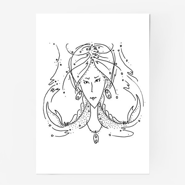 Постер «Рак зодиак»