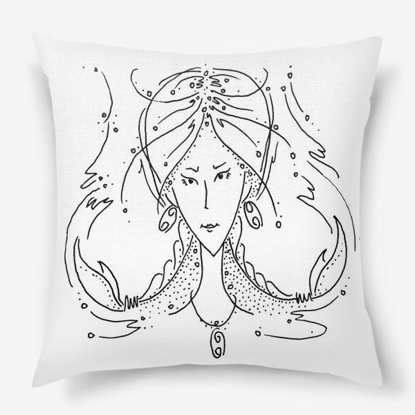 Подушка «Рак зодиак»