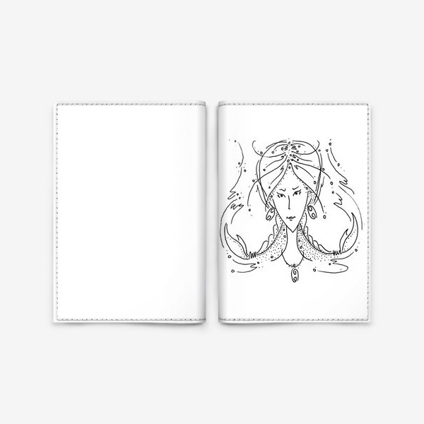 Обложка для паспорта «Рак зодиак»
