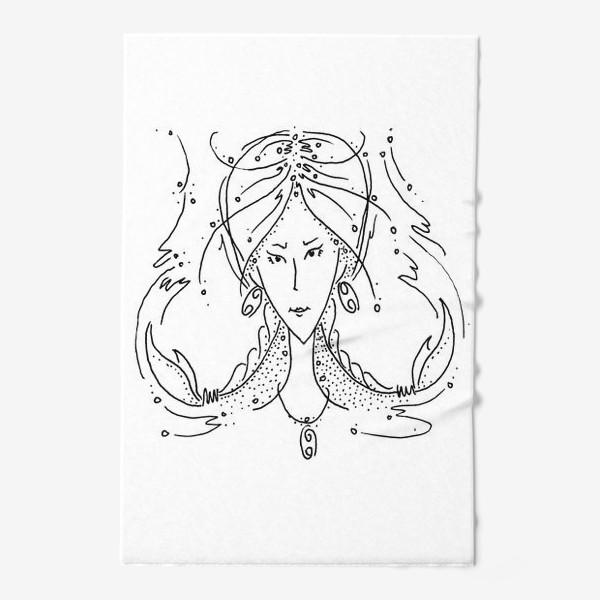 Полотенце «Рак зодиак»