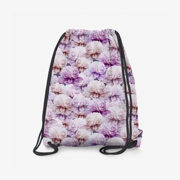Рюкзак «Акварельные пионы»
