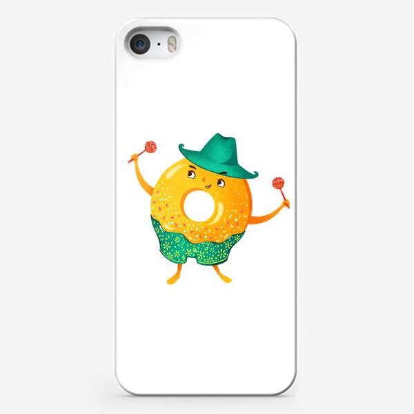 Чехол iPhone «Гавайский пончик»