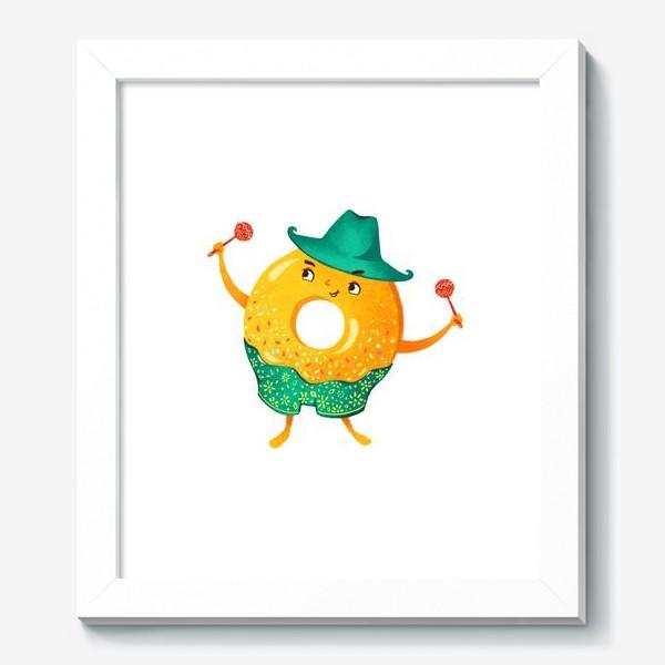Картина «Гавайский пончик»