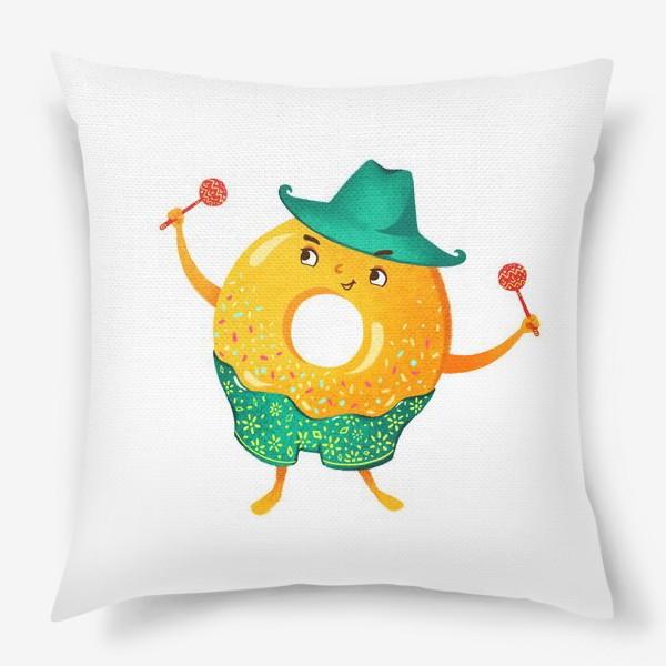 Подушка «Гавайский пончик»