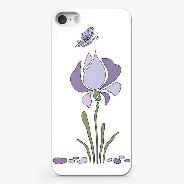 Чехол iPhone «Стилизованный цветок»