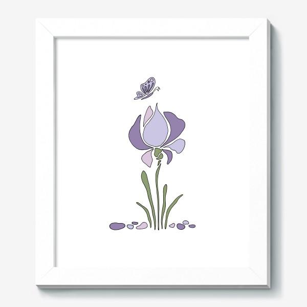 Картина «Стилизованный цветок»