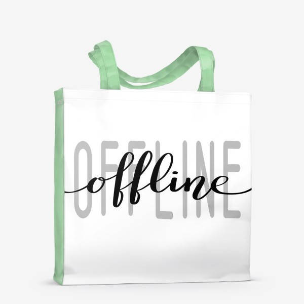 Сумка-шоппер «Offline»