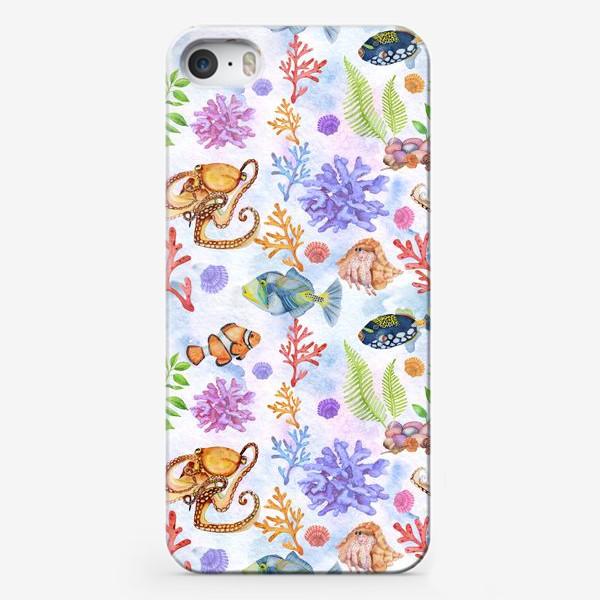 Чехол iPhone «Морское царство.»