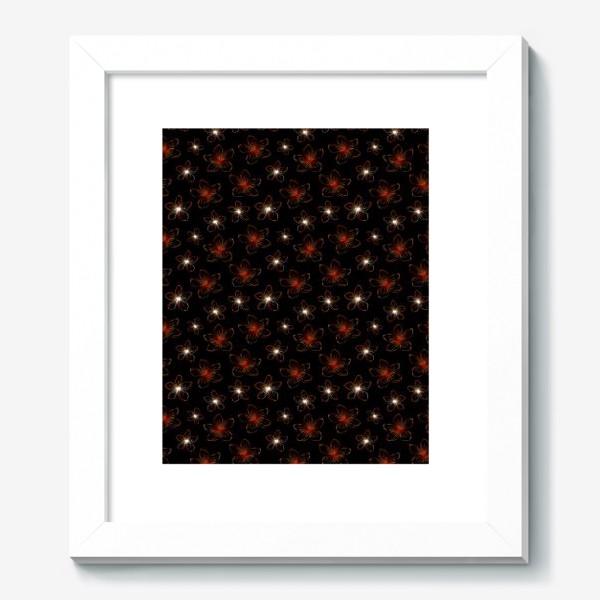 Картина «Изящные цветочки. Дизайнерский принт»
