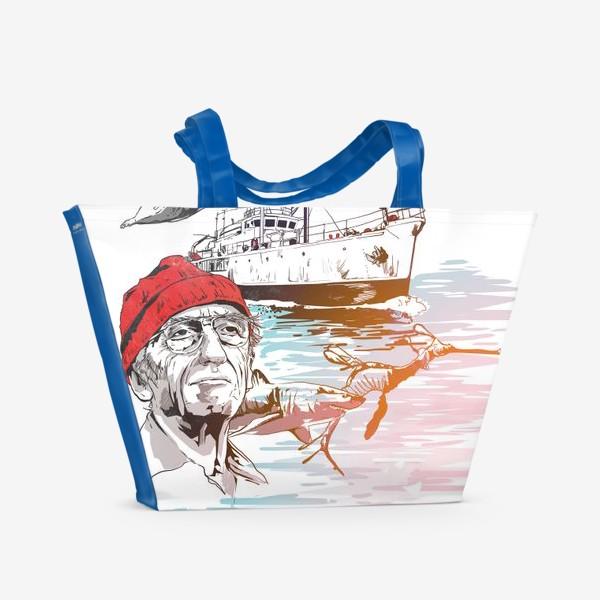 Пляжная сумка «Кусто»