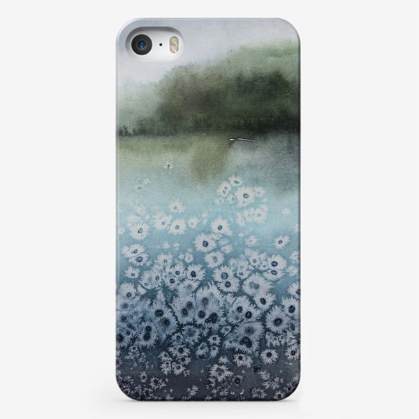 Чехол iPhone «Замёрзшее озеро»