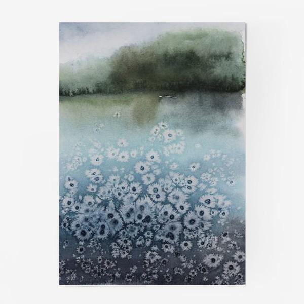 Постер «Замёрзшее озеро»