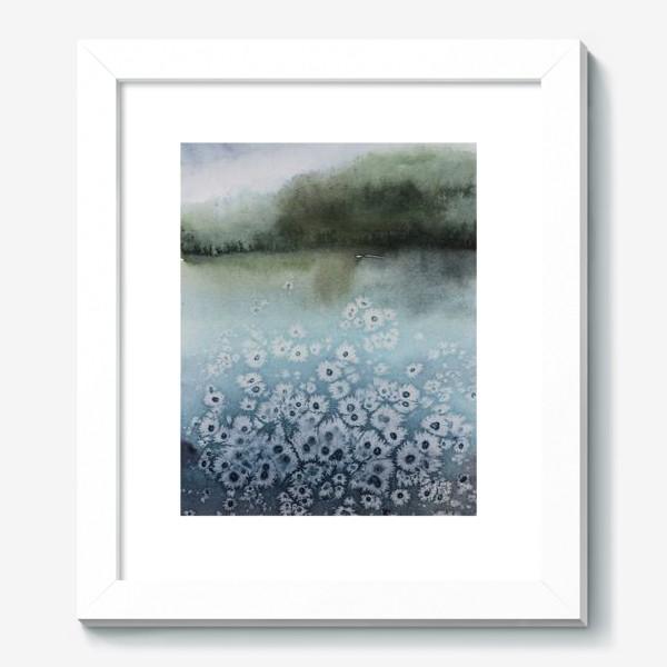 Картина «Замёрзшее озеро»