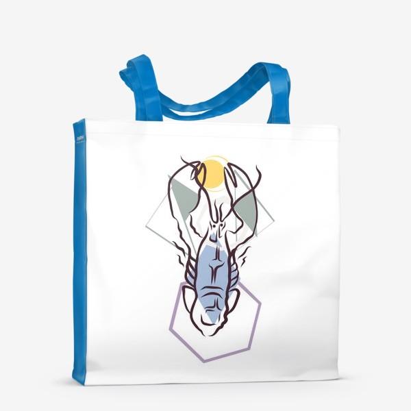 Сумка-шоппер «Знак зодиака. Рак»