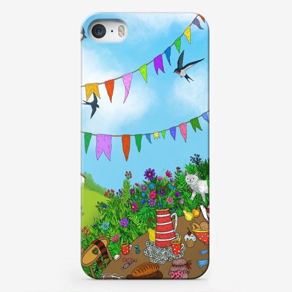 Чехол iPhone «Летний день»
