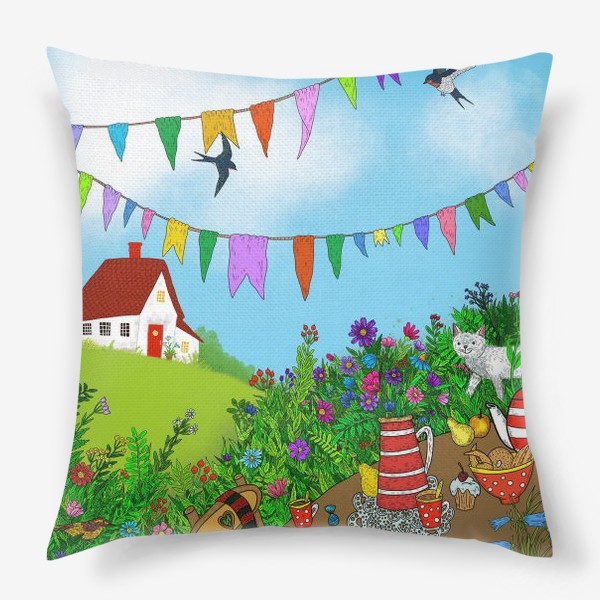 Подушка «Летний день»