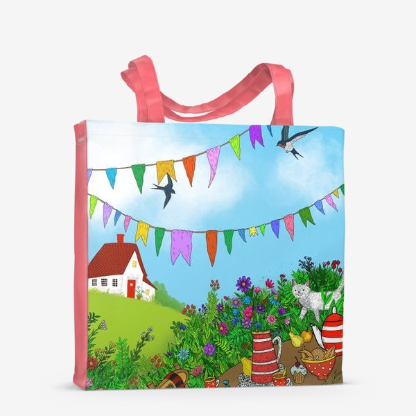 Сумка-шоппер «Летний день»