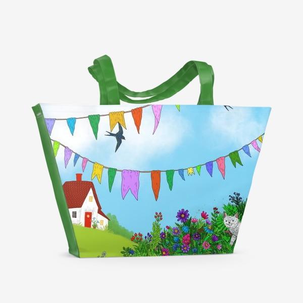 Пляжная сумка «Летний день»