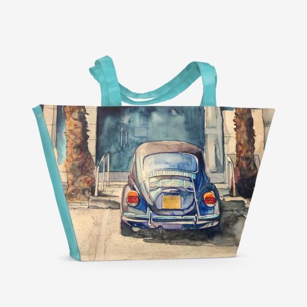 Пляжная сумка «Под пальмами »