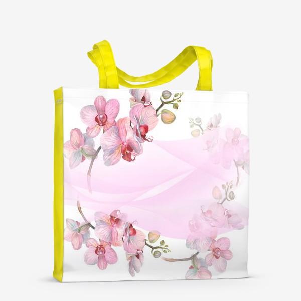 Сумка-шоппер «Орхидеи»