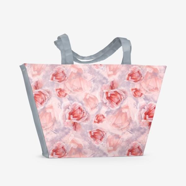 Пляжная сумка «Розовая романтика»