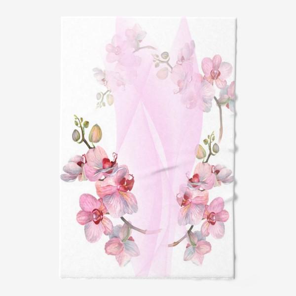 Полотенце «Орхидеи»