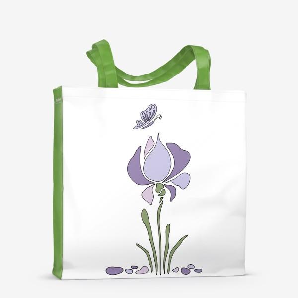 Сумка-шоппер «Стилизованный цветок»