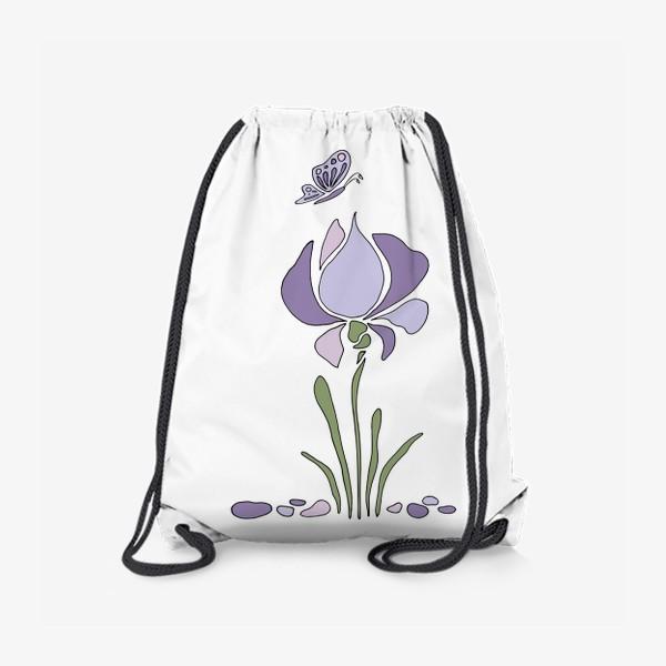 Рюкзак «Стилизованный цветок»