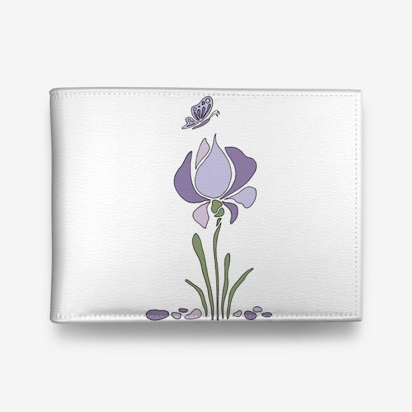 Кошелек «Стилизованный цветок»