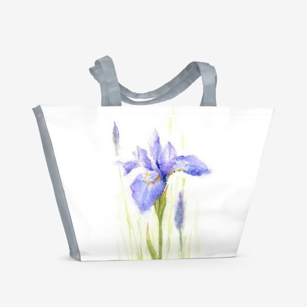 Пляжная сумка «Цветущее лето.»