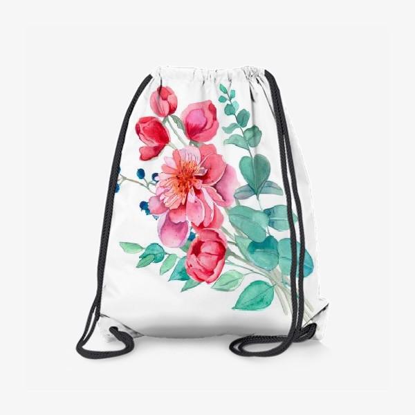 Рюкзак «Бует пионов»