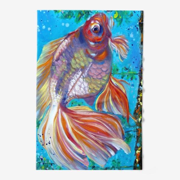 Полотенце «Золотая рыбка»