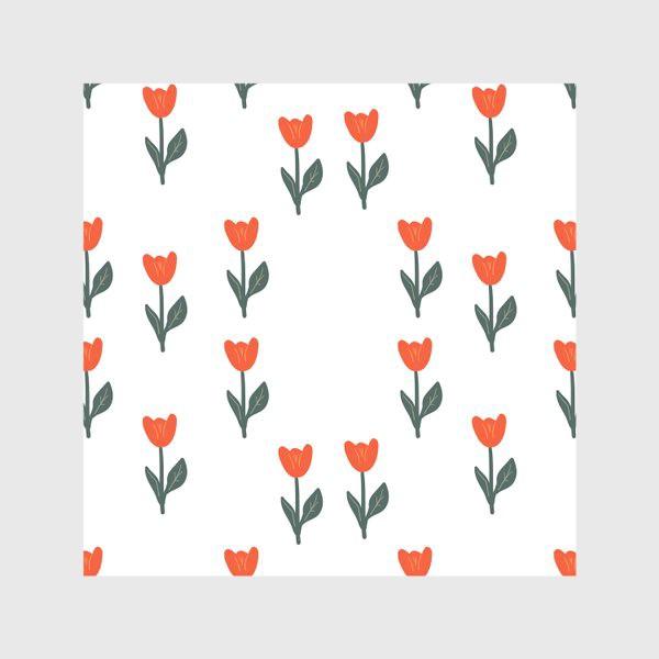 Скатерть «Скандинавский принт. Тюльпаны»