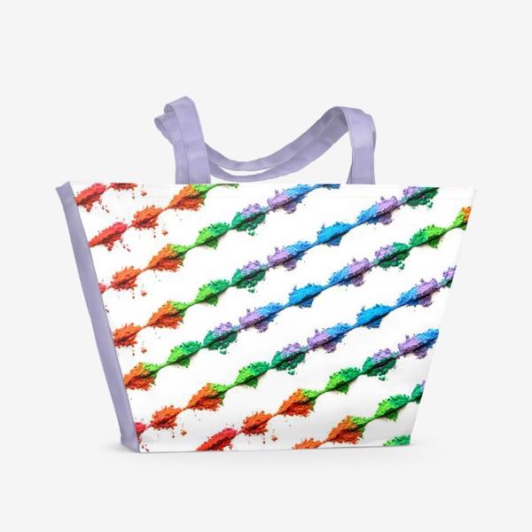 Пляжная сумка «Яркие краски - 2»