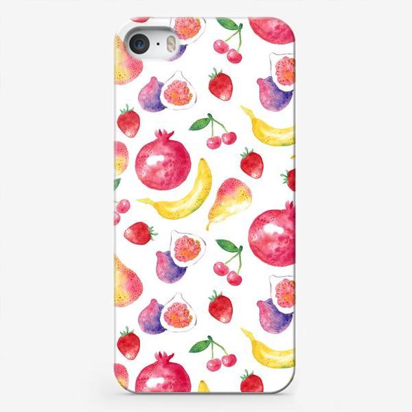 Чехол iPhone «Летние фрукты»