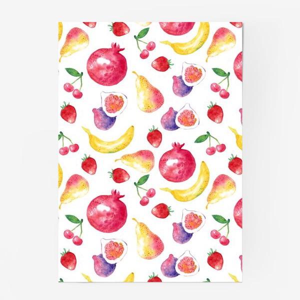 Постер «Летние фрукты»