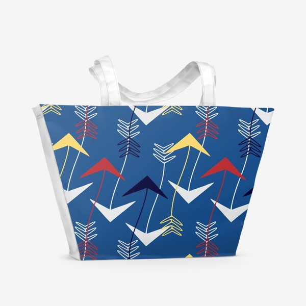 Пляжная сумка «Стрелы волн»