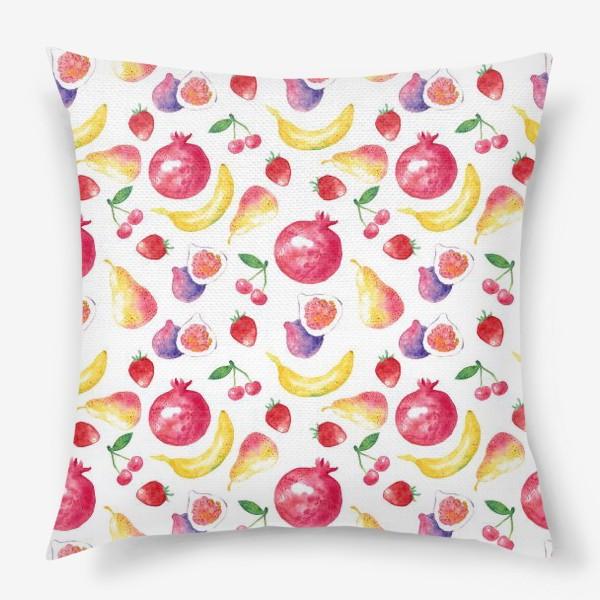 Подушка «Летние фрукты»