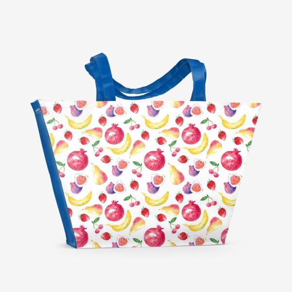 Пляжная сумка «Летние фрукты»